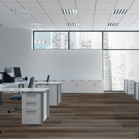 NFD Expressive Hybrid Flooring Dark Oak