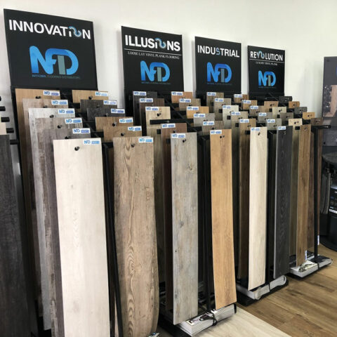 NFD Innovation Loose Lay Vinyl Planks Light Teak