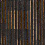 NFD Arizona Carpet Tiles Gold On Black