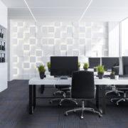 NFD Arizona Carpet Tiles Oxford Blue On Black