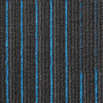NFD Arizona Carpet Tiles Sapphire On Black