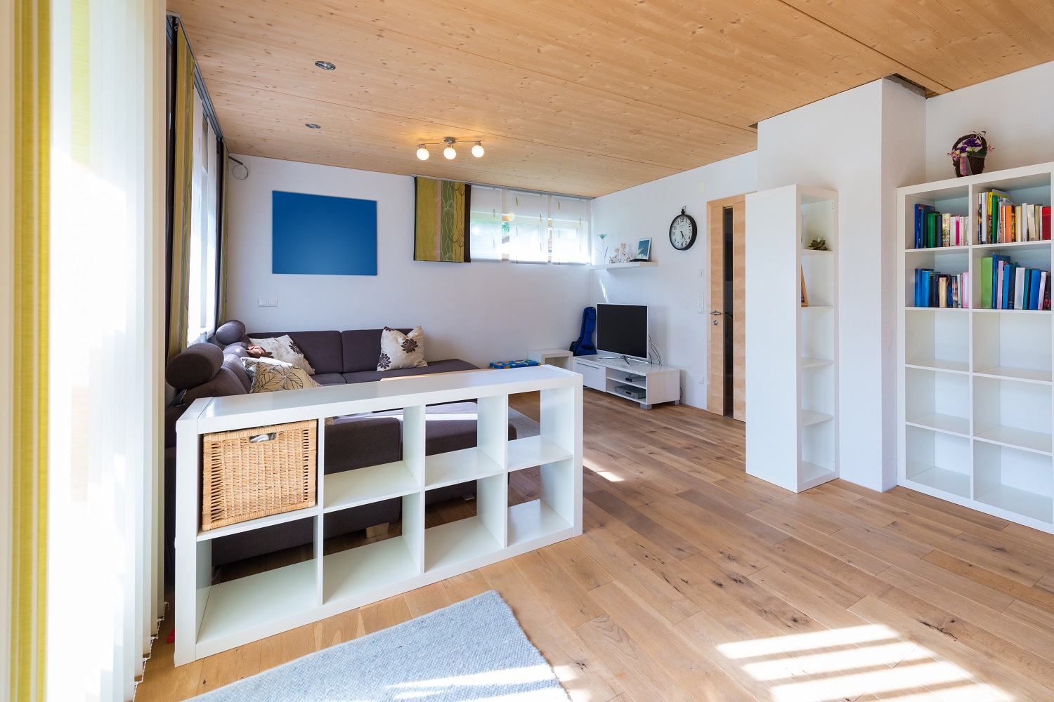 Timber flooring in loungeroom