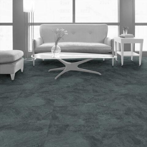 Interface Natural Stone Loose Lay Vinyl Planks Cool Impala Marble