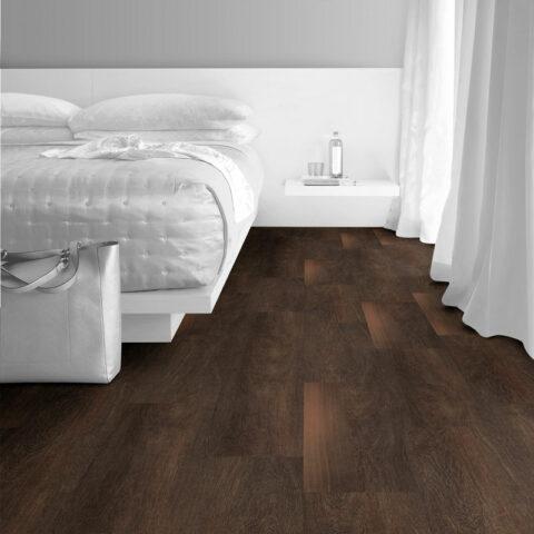 Interface Natural Woodgrains Loose Lay Vinyl Planks Black Walnut
