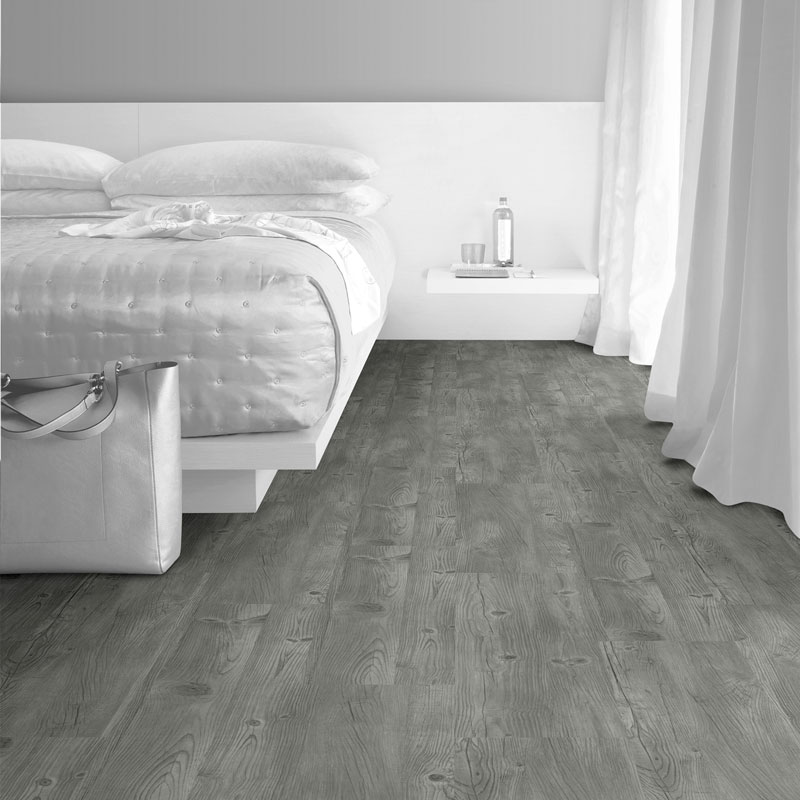 Interface Natural Woodgrains Loose Lay Vinyl Planks Winter Grey