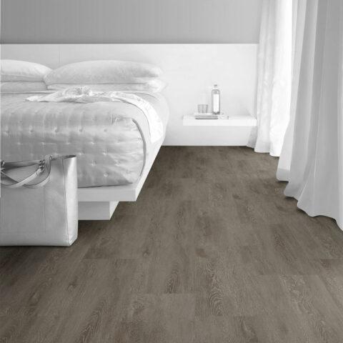 Interface Textured Woodgrains Loose Lay Vinyl Planks Charcoal Dune