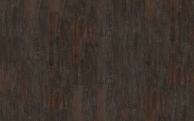 Interface Textured Woodgrains Loose Lay Vinyl Planks Dark Walnut