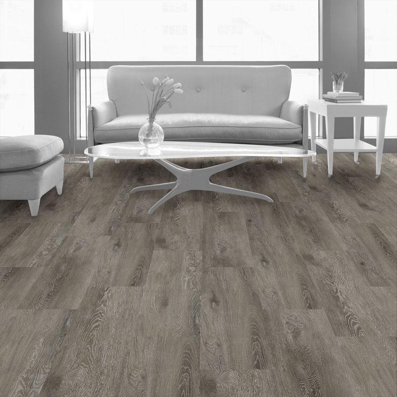 Interface Textured Woodgrains Loose Lay Vinyl Planks Grey Dune