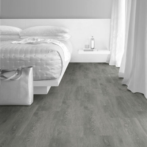 Interface Textured Woodgrains Loose Lay Vinyl Planks Silver Dune