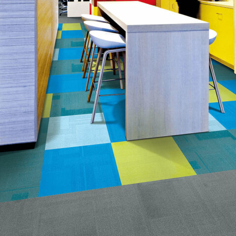 Airlay Paragon Carpet Tiles Royal Blue