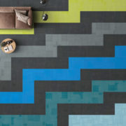 Airlay Paragon Carpet Tiles Midnight Green Dark Cyan Lim