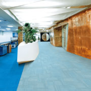 Airlay Paragon Carpet Tiles Royal Blue Crushed Ice