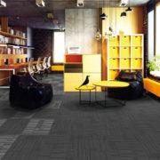 Airlay Sierra Carpet Tiles Paper Bark Pepper