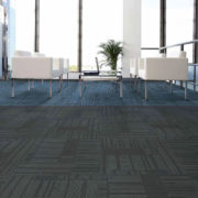 Airlay Sierra Carpet Tiles Smoke Cobalt