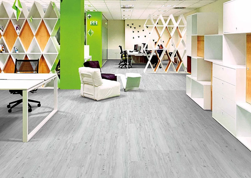 Airlay Alpine Loose Lay Vinyl Planks Argent