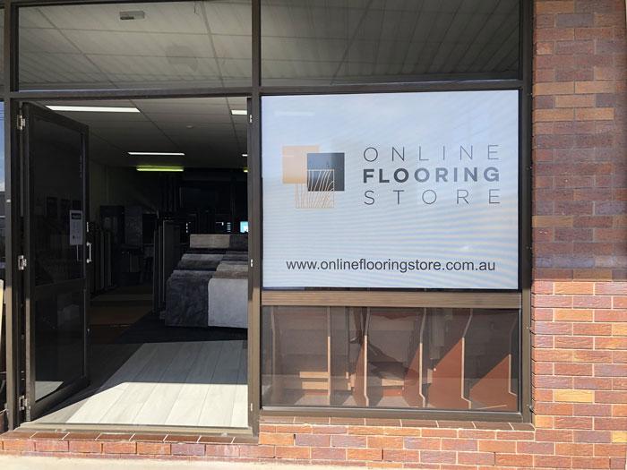 Outside Online Flooring Store