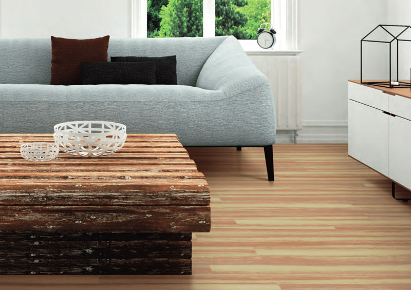 Polyflor MiPlank Loose Lay Vinyl Planks Paperbark