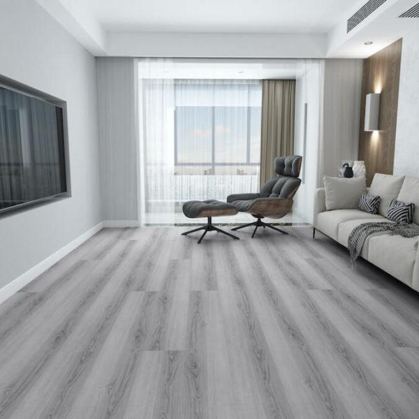 Beau Floor SPC Hybrid Flooring Iced Oak