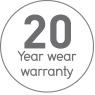 Clix 20 year warranty