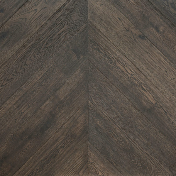Grand Oak Chevron Collection Engineered Timber Black Opal