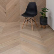 Grand Oak Chevron Collection Engineered Timber Mink Grey