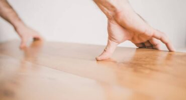 Hybrid flooring is a great choice for DIYers.