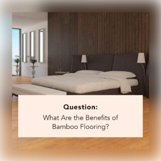 Bamboo flooring offers a range of unique benefits.  These include:  ✔️ Natural Product ✔️ Sustainable ✔️ Hard ✔️ Warm in Winter, Cold in Summer ✔️ Low Emissions ✔️ No Short Boards